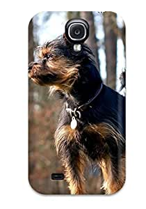 Galaxy S4 Hard Back With Bumper Silicone Gel Tpu Case Cover Lovely Dog