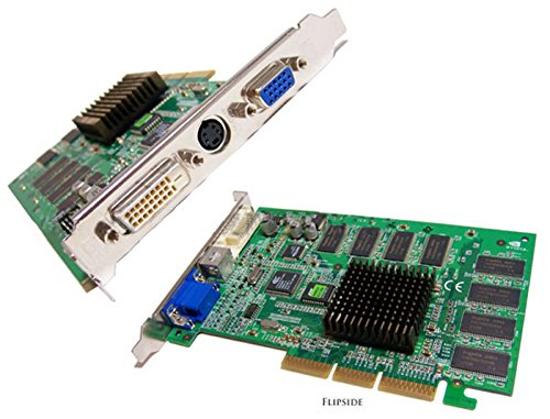 NVIDIA - Nvidia GeForce2 Rev:1.0A 64MB MX400 AGP Card MS-8837 VGA-DVI-TV Out Video Card ()