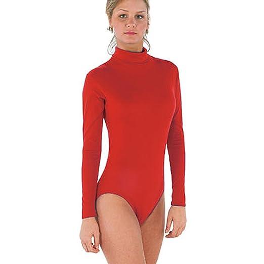 5a1ec6dd85 Amazon.com  Bodywrappers Nylon Long Sleeve Turtleneck Leotard  Clothing