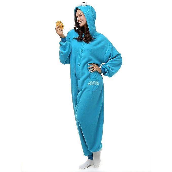 Ropa para dormir Mcdslrgo para mujer y hombre unisex, disfraz, pijama tipo onesie