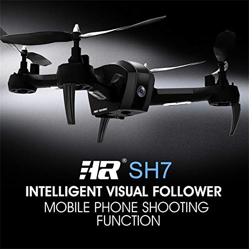 RC Drone,Quadcopter 1080P 5MP WiFi FPV Altitude Remote Control Helicopter Kits Easy to Fly for Beginners Kids Adults, Good Choice for Drone Training LCD Screen Real Time Transmitter (Black)