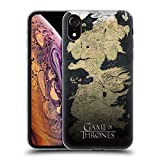 Official HBO Game of Thrones Westeros Map Key Art Soft Gel Case Compatible for iPhone XR
