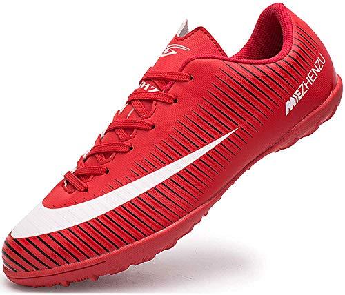 Ikeyo Zapatillas de Fútbol Hombre Profesionales Botas de Fútbol Aire Libre Atletismo Zapatos de Entrenamiento Zapatos de…