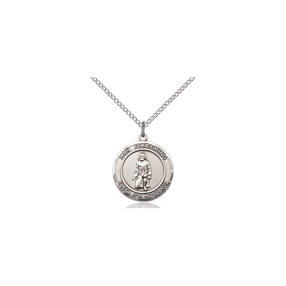 DiamondJewelryNY Sterling Silver San Peregrino Pendant