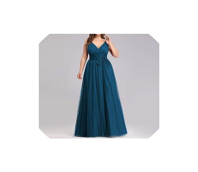 Bridesmaid Dresses Plus Size Ever Pretty Ep07303 Blush Pink ...