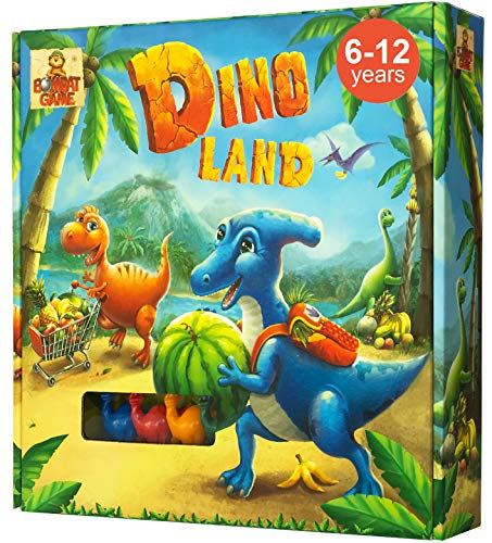 - Dino Land - Board Game for Kids 6 and up with Funny Dinosaurs - Action and Adventure Best Childrens Board Games for Families