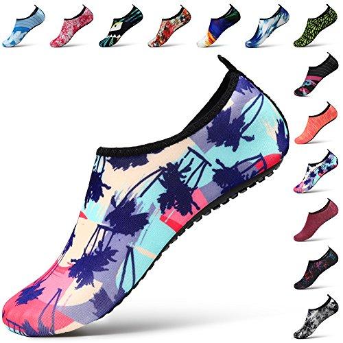 STEELEMENT. Water Shoes Yoga Shoes for Men Women Barefoot Aqua Shoes Socks Swim Surfing Beach Shoes Ws33