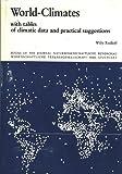 World Climates, W. Rudloff, 380470509X