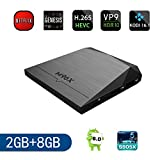RBSCH M96X Android 6.0 4K TV BOX New Amlogic S905X KODI 16.1 Fully Loaded XBMC Quad Core A53 2.0GHz 64bit 2GB /8GB Wifi LAN 1080P OTT Set Top TV Mini Streaming Media Player