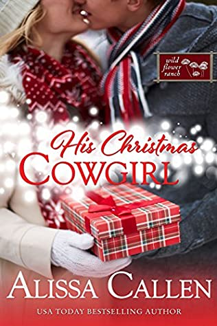 book cover of His Christmas Cowgirl