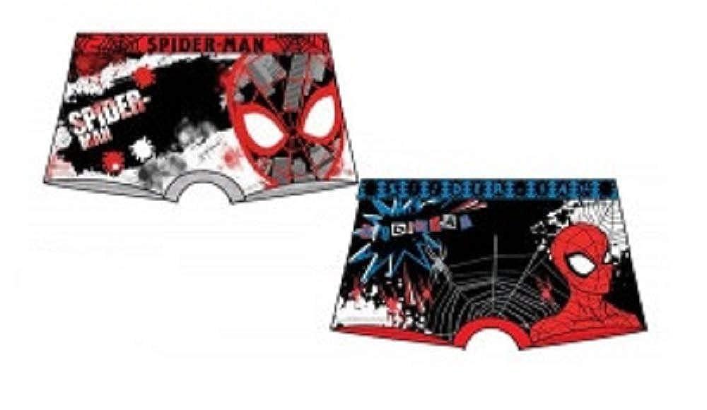 Official Boys Superhero /& Paw Patrol Various Designs Spiderman 4//5 /& 6//8 Power Rangers Pokemon 2 /& 3 Pack Boxer Shorts Underwear Ages 2//3