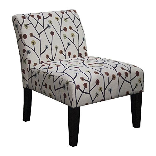 VIDEO Review Whimsical Armless Slipper Accent Chair