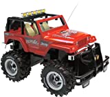 nikko battery pack - 4.8V Jeep Monster with Battery Pack: Red 49MHz