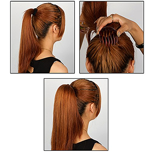 bumpits hair style 2pc magic bump it up volume inserts for donut ponytail 5699