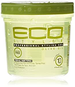 Eco Professional Styling Gel Olive Oil, 16 Ounce