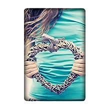 Ipad Air 2 Case, Non-Slip hands heart plexus t-shirt Pattern Case Slim Ipad Air 2 Hard Case Design By [Andrea Novak]