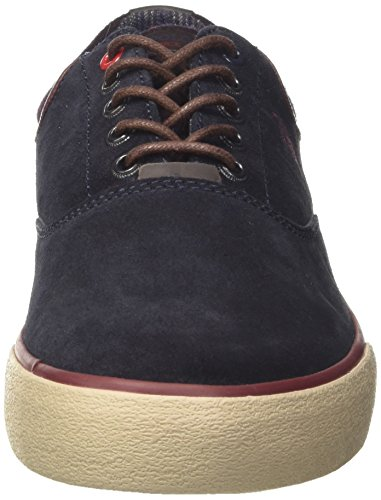 U.S.POLO ASSN. Herren Sterling Suede Low-Top Blu (Dark Blue)