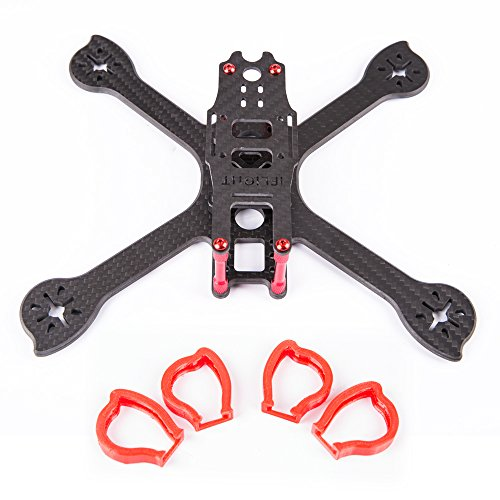 Iflight Racer Ix5 200Mm Fpv Racing Quadcopter Frame Kit   Tpu Motor Mount Protector