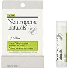 Neutrogena Naturals Lip Balm, 0.15 Ounce (Pack of 2)