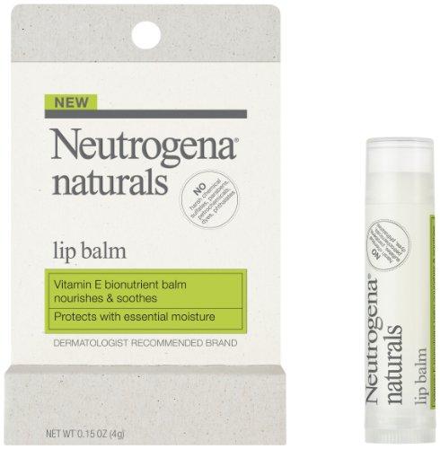 Neutrogena Naturals Baume pour les lèvres, 0,15 once (Pack de 2)