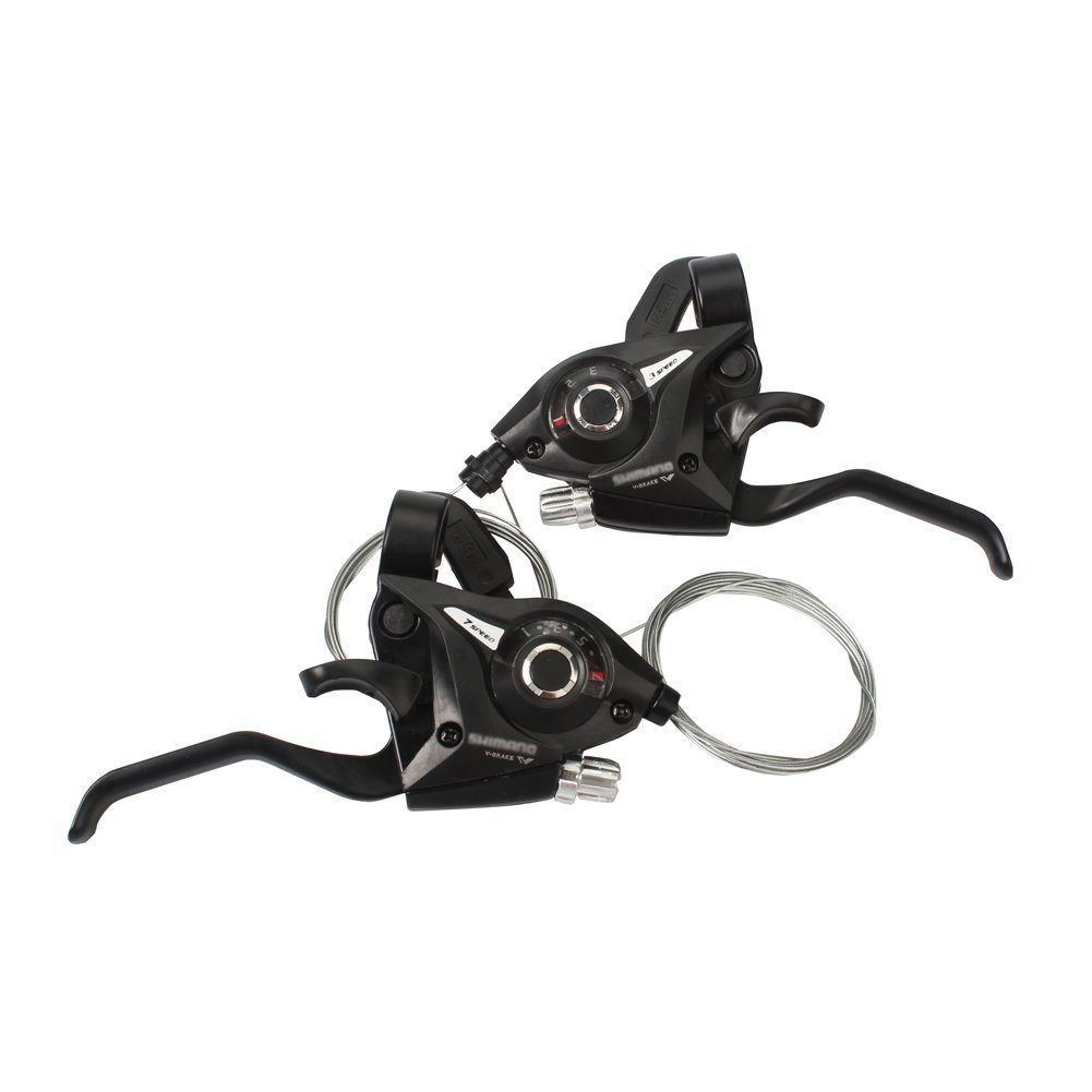REAMTOP New MTB Bicycle Bike 3 x 7 Speed Shift/Shifter Brake Lever Combo