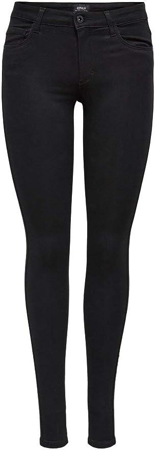 Only ROYAL SOFT REG SKIN JEGGING BLACK NOOS, Pantalones mujer, Schwarz (Black C-N10), M/32 (Talla fabricante: M/32)