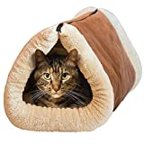 SF Net Trading New Kitty Shack - 2 in 1 Tunnel Bed and Mat For Cat Pet Accessories