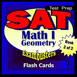 Amazon com: SAT Math Level I Geometry Review Test Prep Flashcards