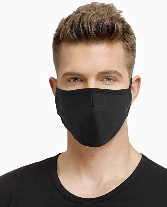 Reusable Dustproof Face Bandana with Breathing Valve Windproof Foggy Haze Dust Protect Face Health for Adults