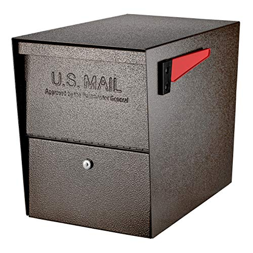Mail Boss 7208 Package Master Curbside Locking Security Mailbox