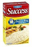 Success Rice, 10 Minute, Boil-in-Bag, Natural Long Grain White Rice, 14oz Box (Pack of 4)