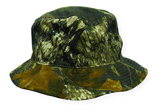 Boonie Bucket Style Hunting Outdoor Cap (Mossy Oak Break Up - One Size)