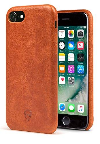 iPhone 7 Bumper Case, Vaultskin SOHO Leather Wallet Case - Premium Italian Leather, Ultra Slim Design ()