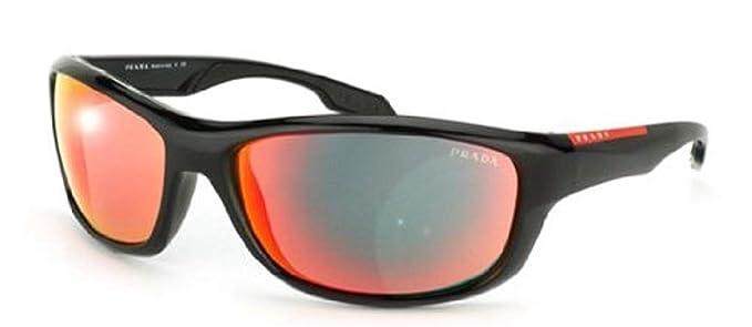 Prada Sport Gafas De Sol Mod. 04NS 1AB6Y1 Negro: Amazon.es ...
