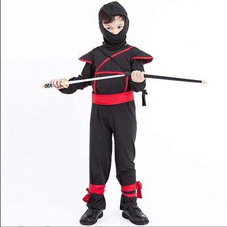 SSeir Traje Ninja Negro, Fiesta de Navidad, los niños ...