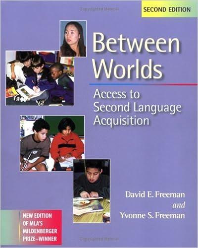 Télécharger gratuitement les livres en pdfBetween Worlds: Access to Second Language Acquisition PDB