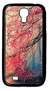 Japanese Red Forest Protective Hard PC Snap On Case for Samsung Galaxy S4 I9500-1122067