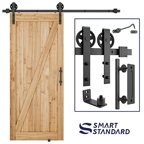 6.6ft Heavy Duty Sliding Barn Do...