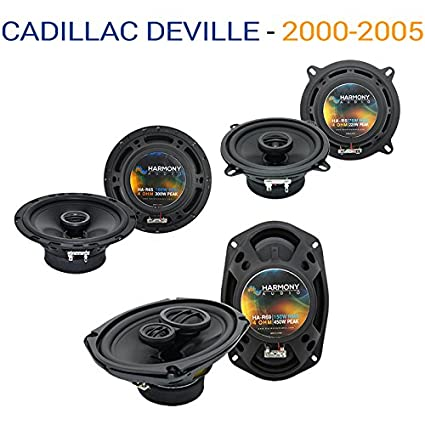 Amazon.com: Fits Cadillac DeVille 2000-2005 Factory Speaker Upgrade