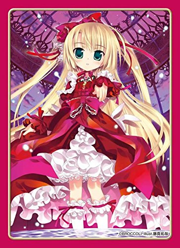 Princess Rose Rosemary von Brune Anime Character Card Game Sleeves Platinum Grade PG Collection Loli Girl Illust. Takuya Fujima