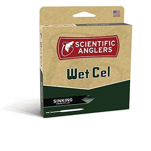 Scientific Anglers Wetcel General Purpose Sinking Lines, Clear Intermediate, WF- 5-S