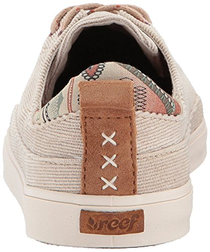 Reef Rust Tweed Walled Trainers Girls Women's Varies Black 8gT8qr7