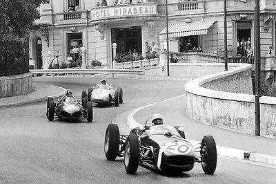 Monaco Automobile 1961 Retro Classic T-Shirt