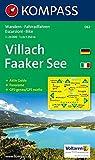 Carta escursionistica n. 062. Austria. Carinzia. Villach, Faaker See 1:25.000. Con carta panoramica. Adatto a GPS. DVD-ROM digital map