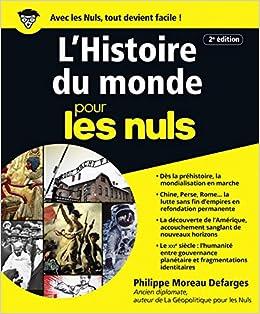 e52cd3bf3bd Amazon.fr - L Histoire du monde pour les Nuls - Philippe MOREAU DEFARGES -  Livres