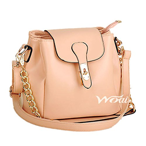2016 New Bucket Chain Portable Fashion Handbag