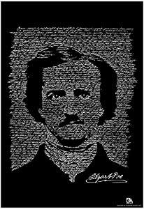 Amazon.com: Edgar Allan Poe The Raven Text Poster 13 x 19in: Toys ...