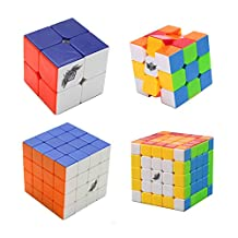I-xun® New type speed magic cube set puzzle cube set pack of cyclone boy 2x2x2 3x3x3 4x4x4 5x5x5