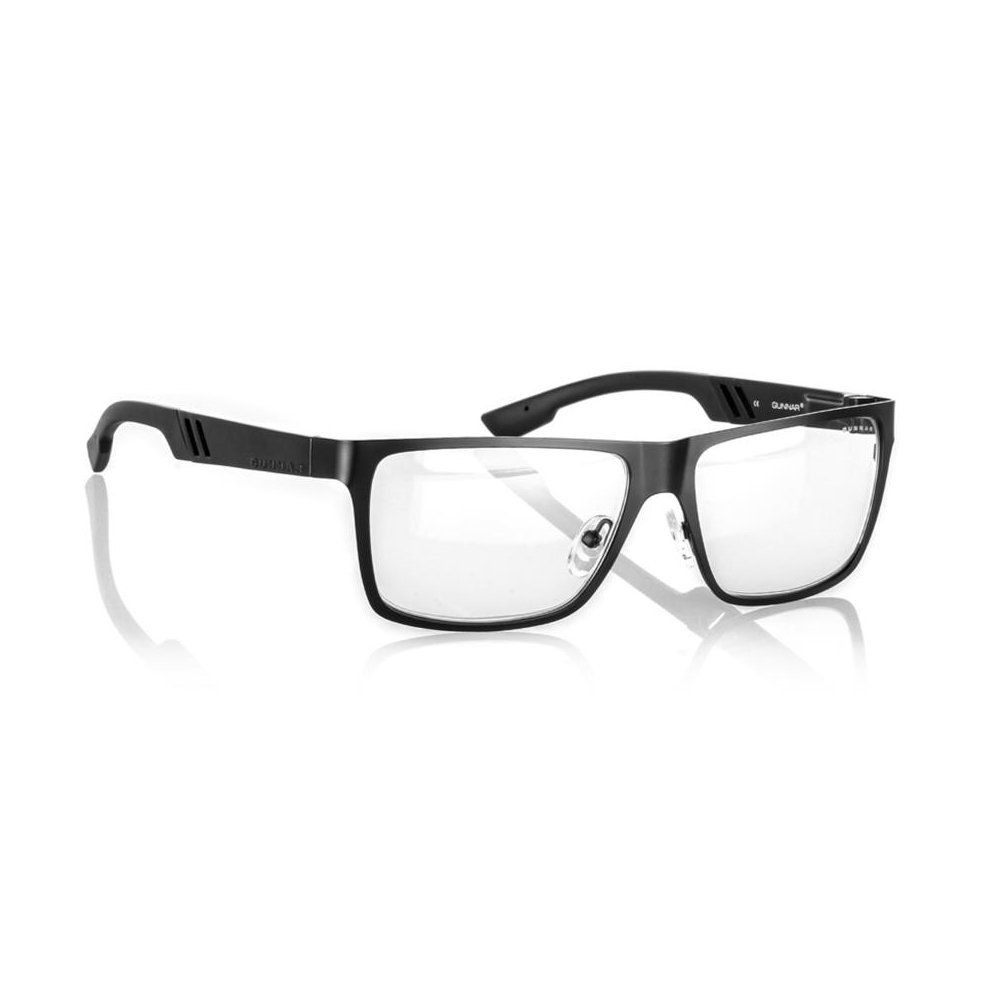 GUNNAR Gaming and Computer Eyewear/Vinyl, Clear Tint - Patented Lens, Reduce Digital Eye Strain, Block 10% of Harmful Blue Light