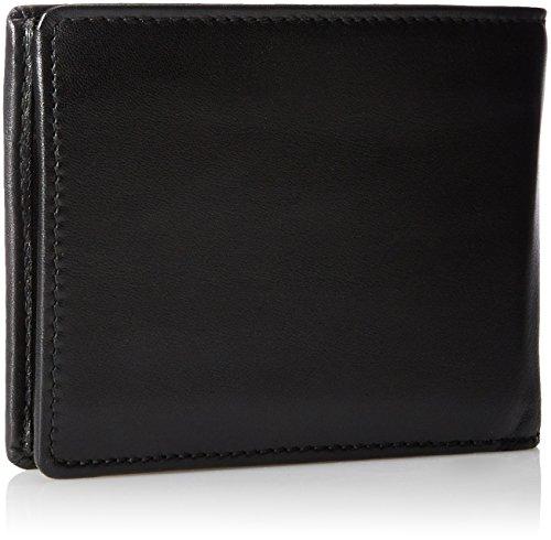 BOSS Herren Arezzo Klapp-Geldbörse aus Glattleder mit Münzfach 2